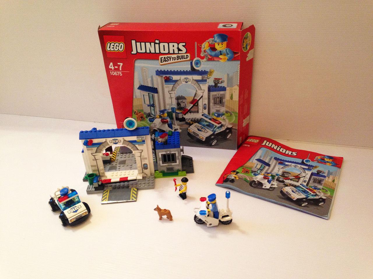 LEGO 10675  Ma 1ère caserne  Commissariat de Police    LEGO CITY Juniors