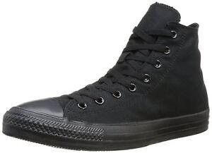 Converse Chuck Taylor All Star Hi MONO BLACK Scarpe da ginnastica Nero