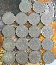 18 Coins MINT SET 1960 1961 1962 1963 1964 1967 1968 1969 1970 - 50 Paise Nickel