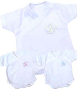 5bc193e779ab BabyPrem Premature Baby Clothes NICU Neonatal Wrap Bodysuit Vests ...