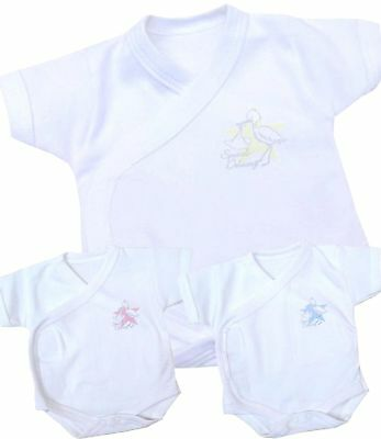 BABYPREM Baby Clothes Premature SCBU Newborn NICU Popper Vest Fighter 1.5-7.5lb