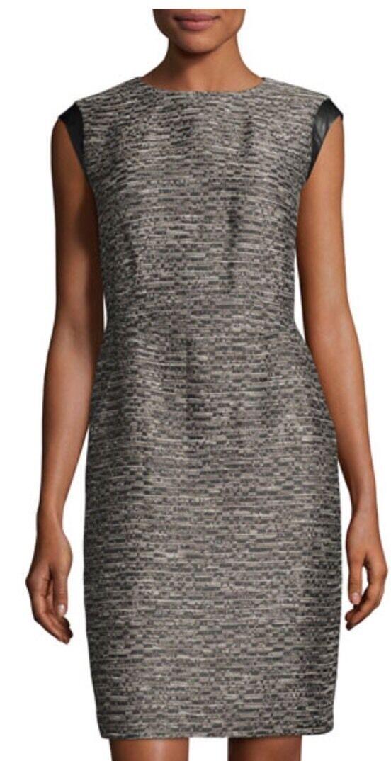 Lafayette 148 Women's Cosette Tweed Sheath Dress Size 12  A311