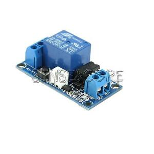 DC-5V-12V-24V-1-Channel-Latching-Relay-Module-With-Touch-Bistable-Switch-MCU