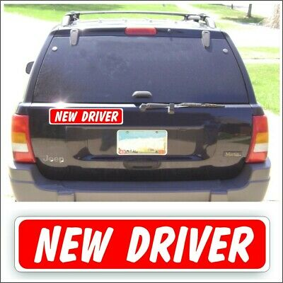 Student Driver Nervous Parent Magnet Car Truck Safety New Teen  Drivers Ed #1