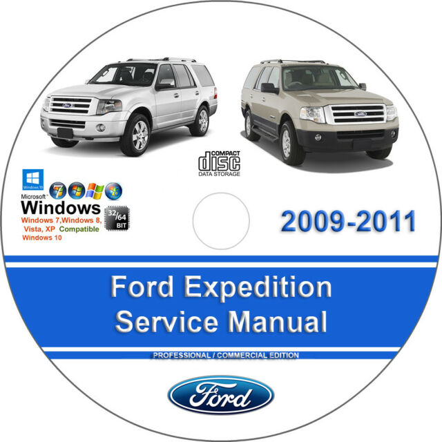 Ford Expedition 2009 2010 2011 Factory Workshop Service