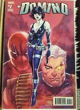 Domino #1 Baldeon 2nd Print Variant Marvel Comics 2018 NM