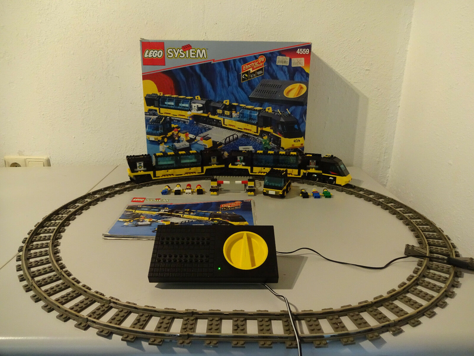 (TB) lego système ferroviaire 4559 navette express avec neuf dans sa boîte & BA 100% COMPLET 9 V | Soldes