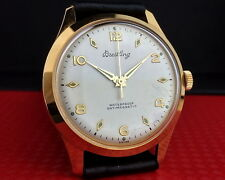 BREITLING 18k GOLD PLATED MEN'S WATCH from 1950's
