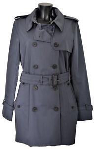 Giubbotto-Aquascutum-London-Franca-Sb-Giacca-Trench-Grigio-Donna-Woman-Jacket