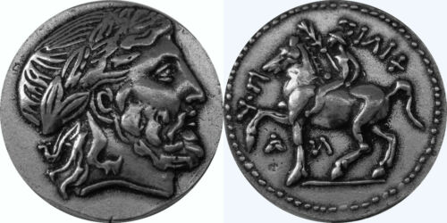 Zeus 4-ZUESSET-S King of the Gods 4 Versions 4 Greek Coin Set