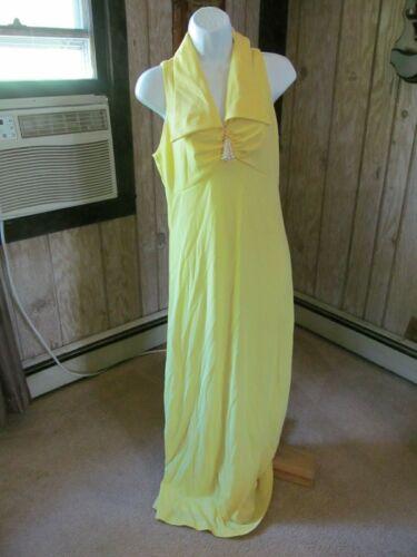 Vintage Yellow Gown or Marilyn Monroe Halloween C… - image 1