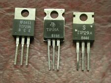 Lot Of 2 Tip29a Npn Power Transistor 60v 1a To 220 Package