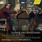 """Ludwig van Beethoven: S""""mtliche Werke fr Violoncello und Klavier (CD, May-2011, 3 Discs, Haenssler)"""