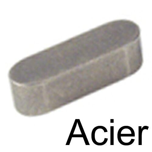 CLAVETTE PARALLELE ACIER 6x6x50 1