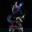 Anime NARUTO NEW Uchiha Sasuke Burning Wind 32cm GK Statue PVC Figure Loose