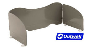 Details about OUTWELL KITCHEN TABLE WINDSHIELD to shelter camping gas stove  from the wind