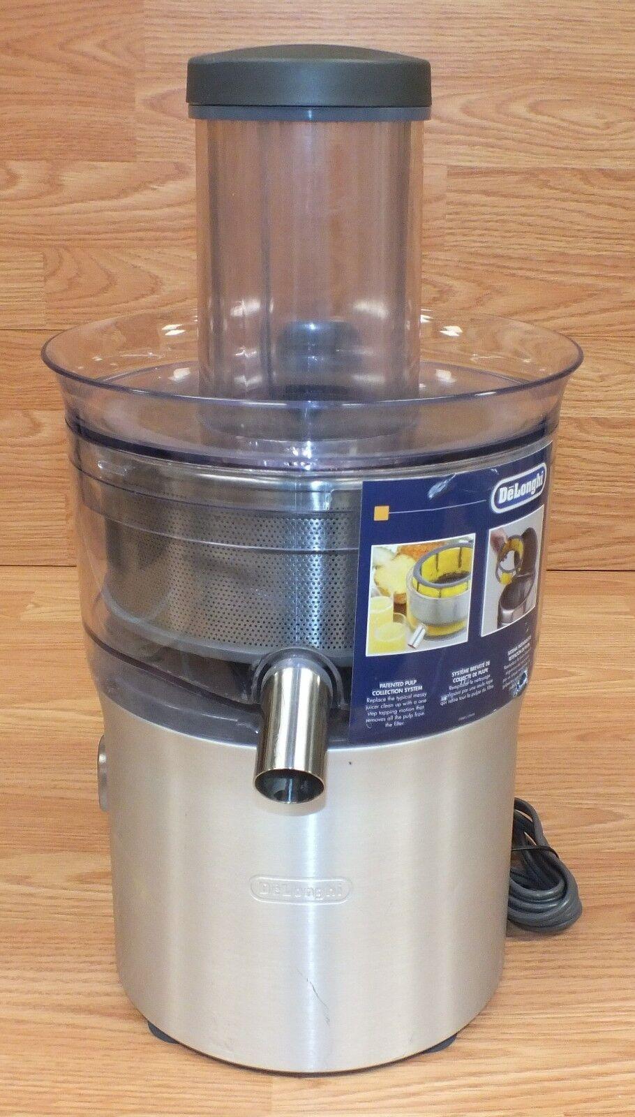 Genuine Delonghi (DJE950) Electric Stainless Steel Induction Juice Extractor