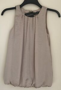 Dorophy-Perkins-Pink-Silk-Look-Top-New-With-Tags