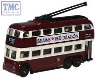 Nq1005 Oxford Diecast 1:148 Scale N Gauge Cardiff But Trolleybus