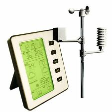 Professional Wireless Weather Centre Forecast With Thermo Hygro Wind Rain Sensor