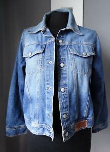 Giacca-di-jeans-jacket-denim-9-10-anni-140-bambino-o-S-adulto-blazer-giubbotto