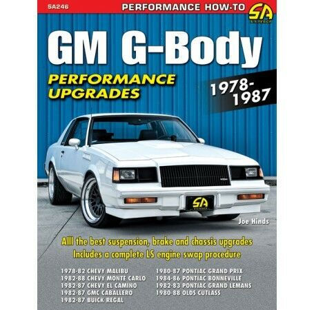 GM G-body Performance Upgrades 1978-1987 Sa246 CarTech 144 Pages