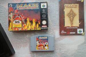 Jeu Nintendo 64 / N64 Game Mace the Dark Age retro Complet PAL CIB Bien Lire