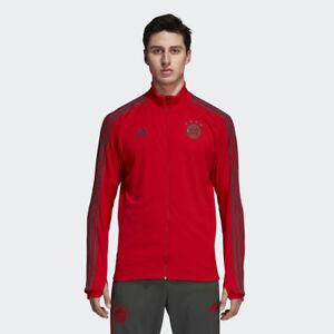 623130afe25 adidas FC Bayern 2018/19 Training Jacket New Red Utility Ivy CW7288 ...