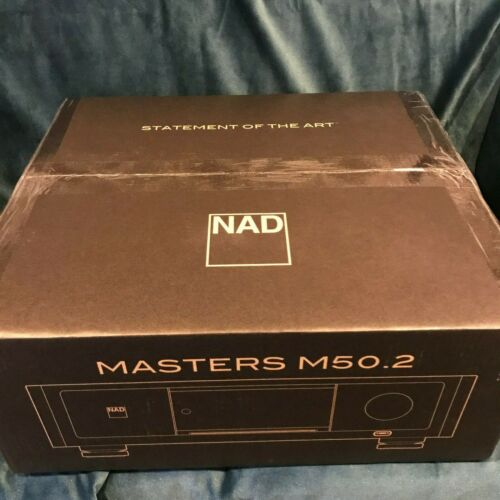 BrandNEW NAD M50.2 Digital Music Player with 4TB with Music Vault and CD