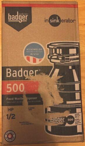 InSinkErator Badger 500 1//2 HP Dura Drive Induction Motor Garbage Disposal