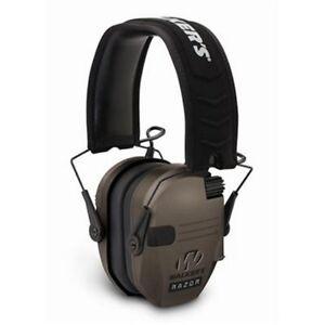 Walkers-Game-Ear-WGE-GWP-RSEM-FDE-Razor-Slim-Shooter-Folding-Ear-Muff-Dark-Earth