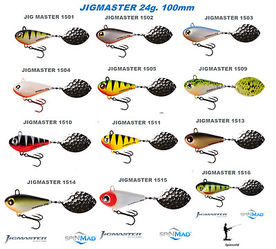 Spinmad JIGMASTER 24g excellent for pike /& zander 1st class post 100mm