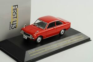 Mazda-Rotary-Coupe-R100-Red-1968-Diecast-1-43-First-43-097
