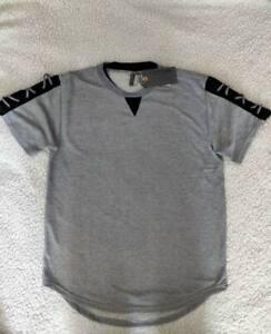 American-Legacy-Amongst-Others-Men-039-s-Shirt-Gray-Black-Textured-Tee-AO-1021-XL