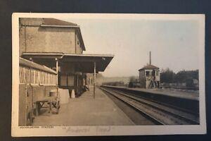 Postcard, Micheldever Station, Hampshire