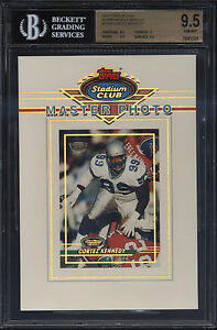 1993-Stadium-Club-5x7-Members-Only-Master-Photo-Cortez-Kennedy-Gem-Mint-BGS-9-5