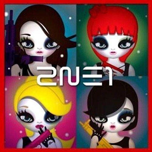 2NE1-2nd-Mini-Album-CD-21p-Mari-Kim-Illust-Booklet-K-POP-Sealed-UGLY-Lonely-YG