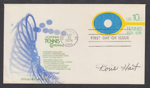 Doris Hart, American Tennis Champion, signed 10c Tennis FDC, Forest Hills, NY pm