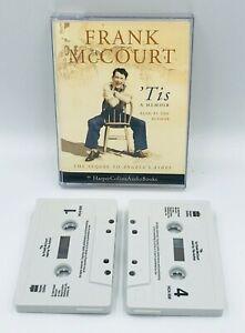 Frank-McCourt-039-Tis-A-Memoir-Audio-Cassette-Book-Sequel-Angela-039-s-Ashes-Gift-Xmas