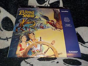 The-7th-Voyage-Of-Sinbad-Pioneer-se-Laserdisc-Ld-Musica-Pista