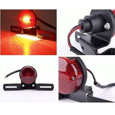 Motorcycle LED Bulbs Red Rear Tail Brake Stop Lamp For Cafe Racer Chopper Bobber