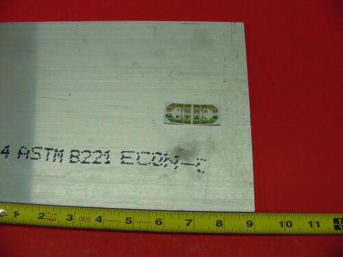 """1//4/""""x 8/"""" ALUMINUM 6061 Ftat Bar 9/"""" long T6 New .25/""""x 8/"""" Mill Bar Stock"""