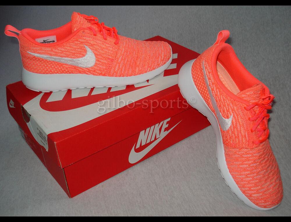 Nike Rosherun flyknit wmns Orange nuevo 704927 800 roshe One