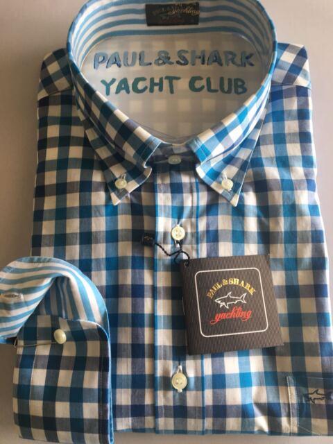 NEW Paul & Shark Yachting Shirt Camicia 45 2XL XXL