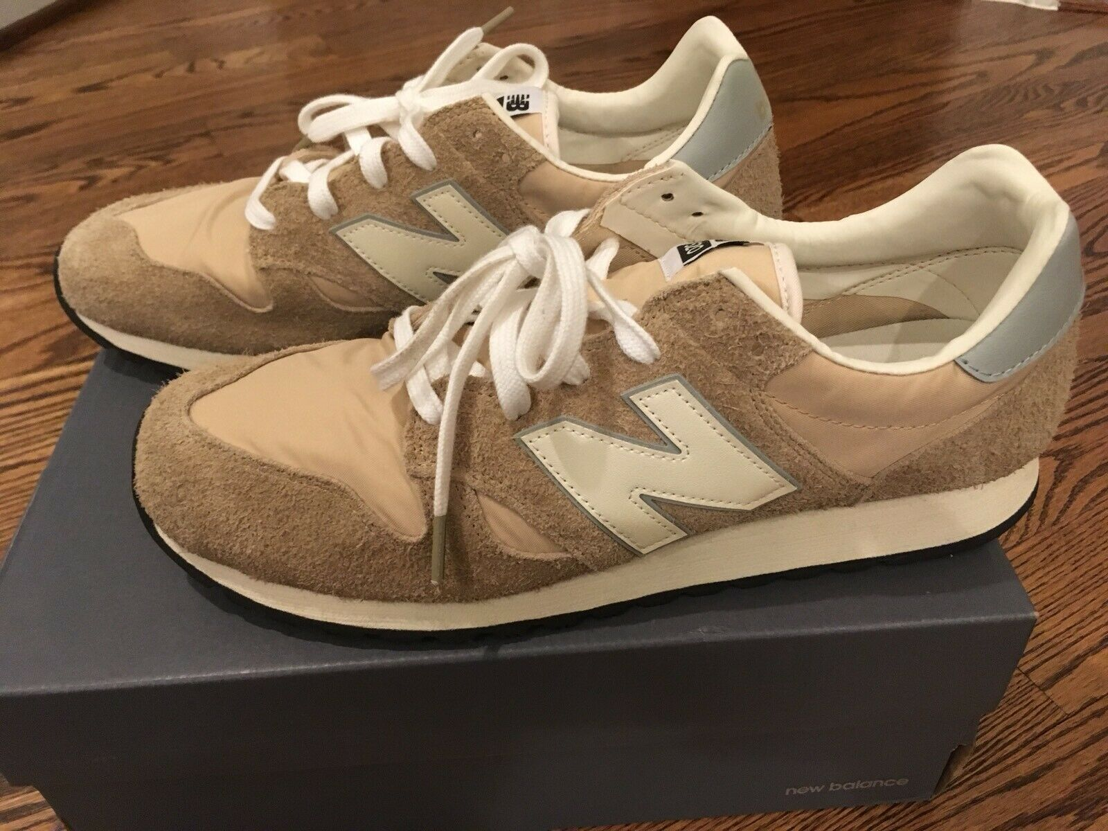 New Balance x J. Crew Classic 520 Sneakers shoes in Hairy Suede Sz 12 NIB