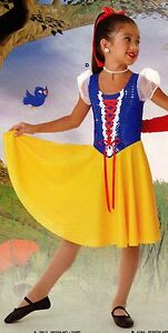 NWT-Snow-White-dance-costume-girls-sizes-Great-for-dressup-or-theatrical-use