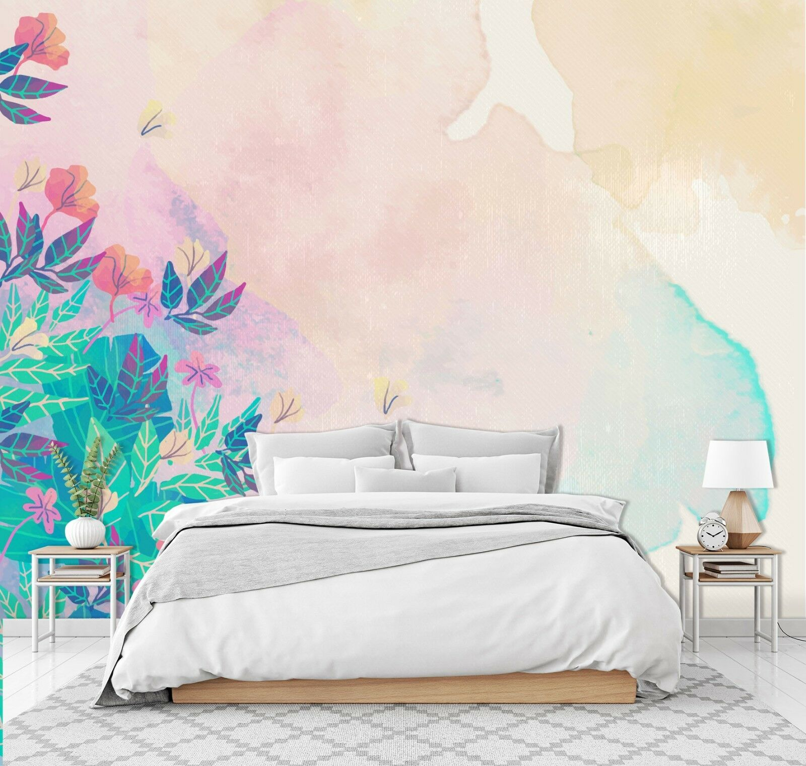 3D Spring Blossoms 84 Wall Paper Exclusive MXY Wallpaper Mural Decal Indoor Wall