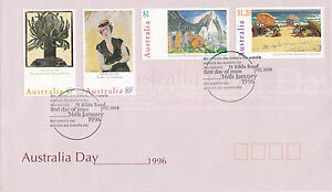 AUSTRALIA-16-JANUARY-1996-AUSTRALIA-DAY-OFFICIAL-FIRST-DAY-COVER-SHS