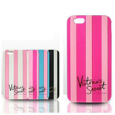 Victoria/'s Secret  Luxe Silicone Stripe Case Cover for iPhone 6 6 Plus 4s 5s 5c
