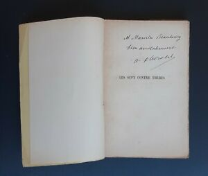 Envoi-dedicace-A-Ferdinand-HEROLD-LES-SEPT-CONTRE-THEBES-E-O-1909-tirage-N-19